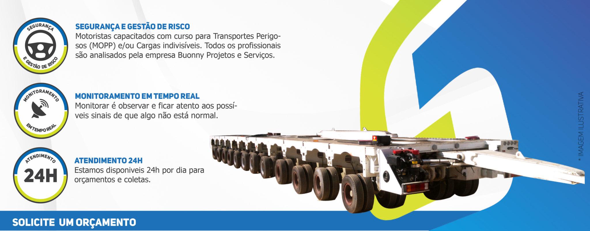 linha-de-eixos Transportes Especiais